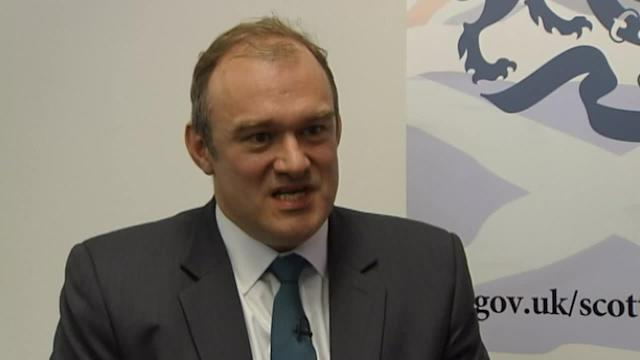 Ed Davey says Maria Miller made the right decision