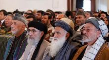 Afghan former warlord Hekmatyar rallies supporters in Kabul