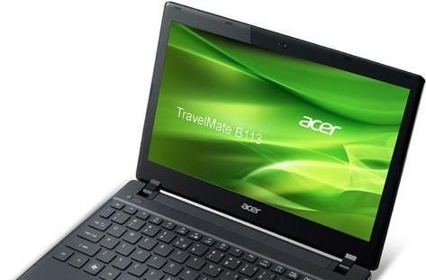 Acer launches 11.6-inch Sandy Bridge TravelMate B113