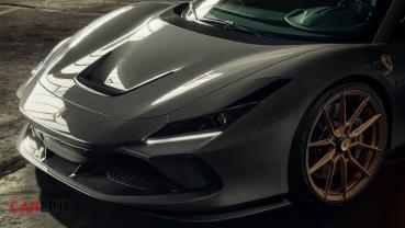 破800ps大關!Ferrari F8 Tributo「全車改套餐」再現by Novitec