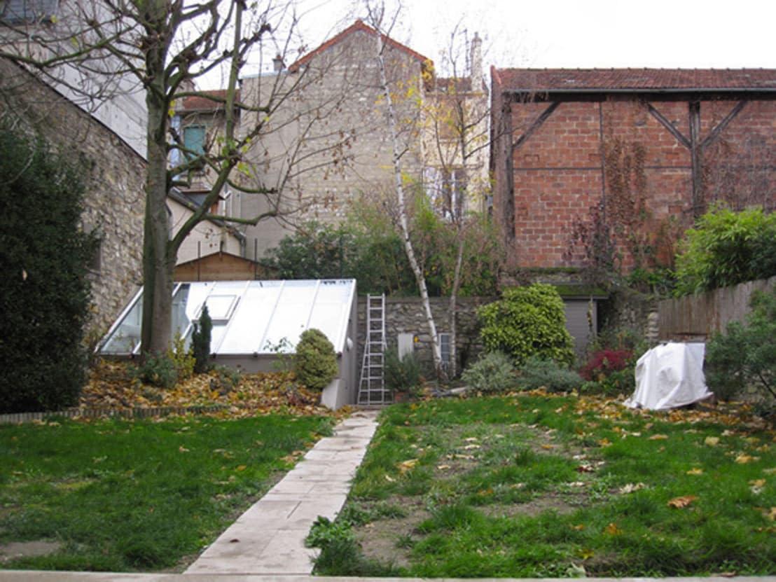 Avant / après: la création d\'un jardin contemporain dans les Yvelines