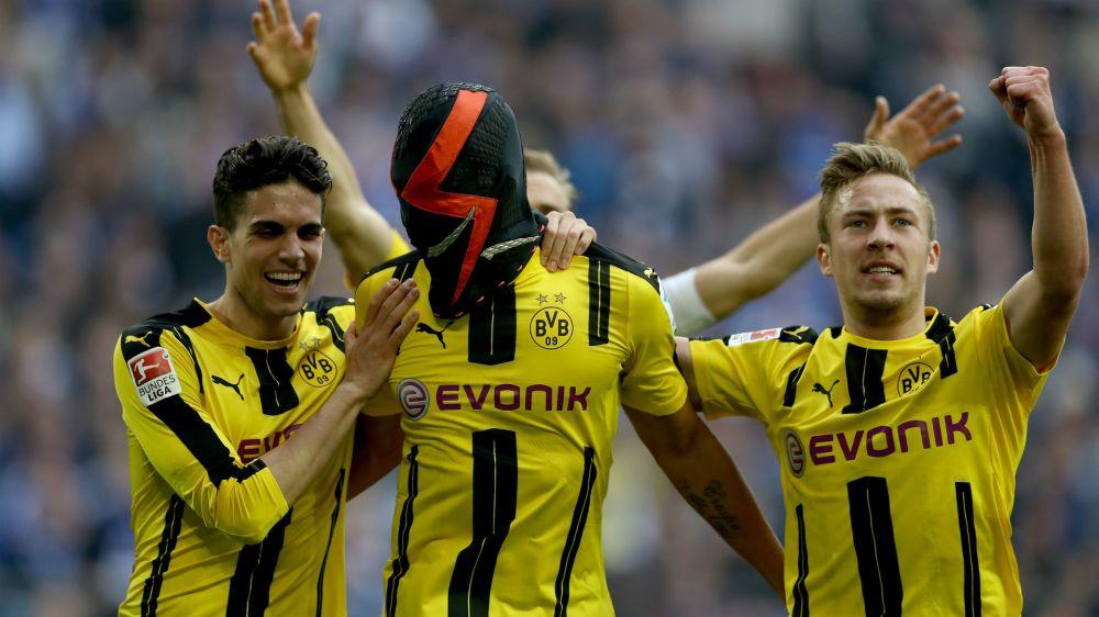 Dortmund star Aubameyang facing questions over Nike mask