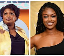 'Batwoman' star Javicia Leslie wants Stacey Abrams to suit up as a hero and appear in the new season