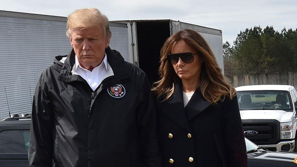 Melania Trump Fake