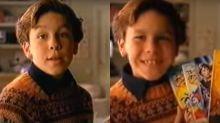 Los anuncios que protagonizó Mario Casas cuando era pequeño