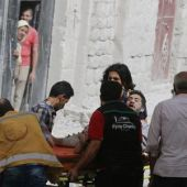 Fierce air strikes on Aleppo after Syrian army declares offensive