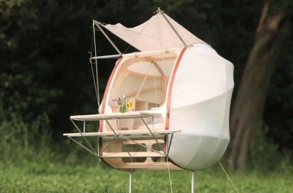 Japanese company takes pod concept mobile, keeps ants from your Grey Poupon (video)