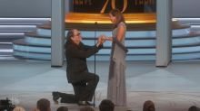 Twitter's in love with adorable proposal on the Emmys