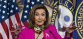 Nancy Pelosi. (AP)