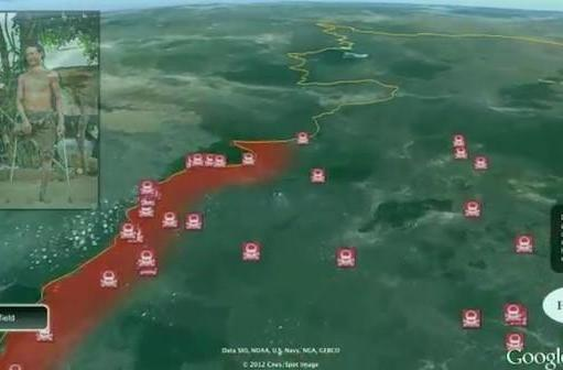 Google Earth utilized by HALO Trust to clear minefields in Cambodia, Angola