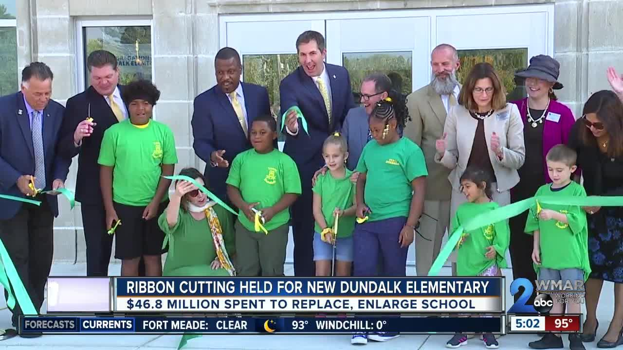 Ribbon cutting held for new Dundalk Elementary