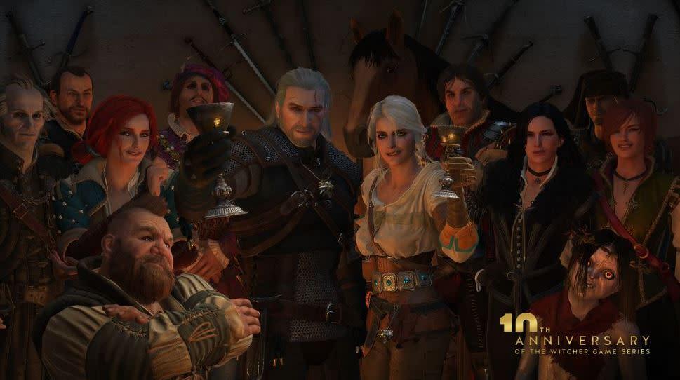 巫師的多人遊戲感覺就是一款 MMORPG。(圖源:cyberpunk 2077 )