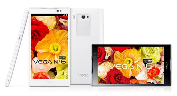 The biggest 1080p phone so far: Pantech's 5.9-inch Vega No. 6