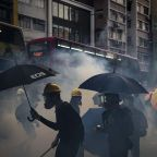 Rampaging mobs stage an arson spree in Hong Kong