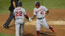 Cabrera and Soto power Nationals to 16-4 rout of Matz, Mets