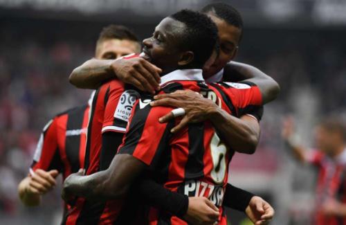 Nice vence o Nancy e encosta nos líderes do Campeonato Francês
