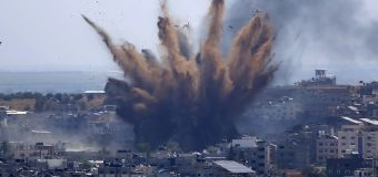 Israeli artillery pounds Gaza as conflict intensifies