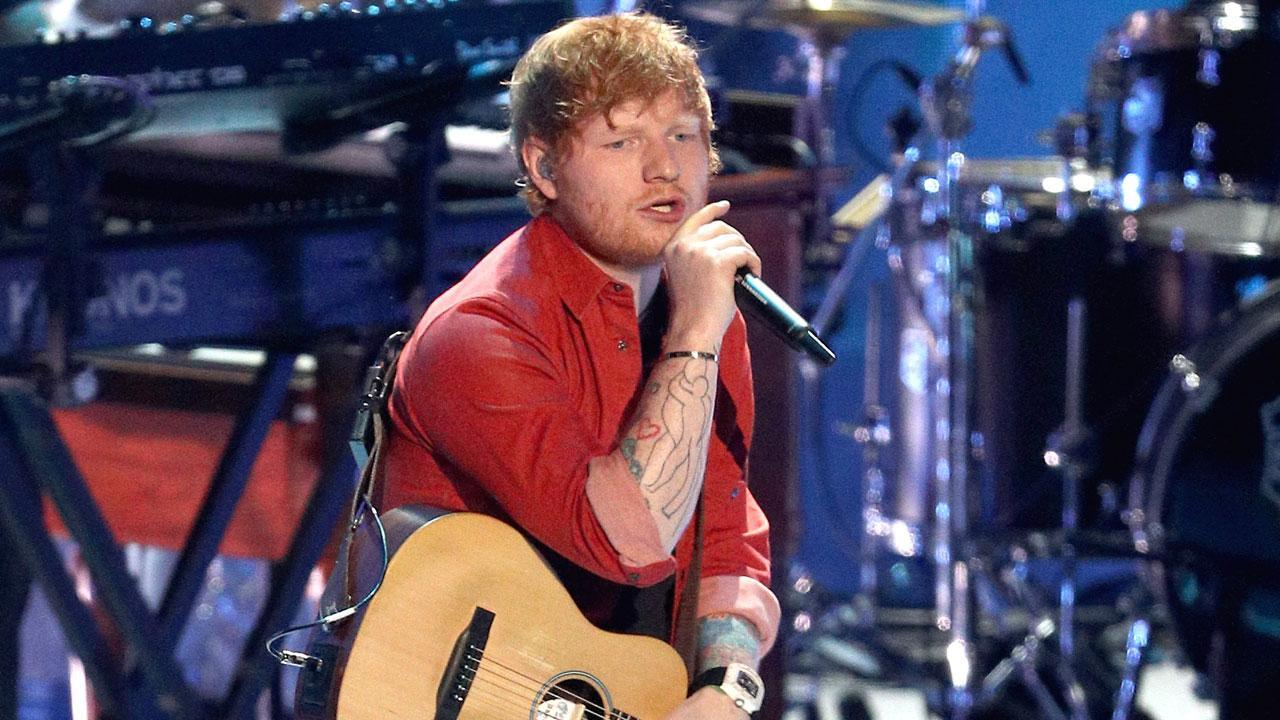 ed sheeran breaks his arm in bicycle accident injury could affect his upcoming shows. Black Bedroom Furniture Sets. Home Design Ideas