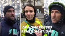 """Ces pompiers en grève expriment leur """"ras-le-bol général"""""""