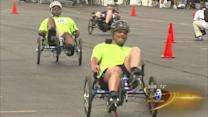 3rd annual Valor Games for wounded service members kick off at Soldier Field