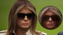 ¿Es Melania Trump o una doble? La evidencia fotográfica desmiente los rumores