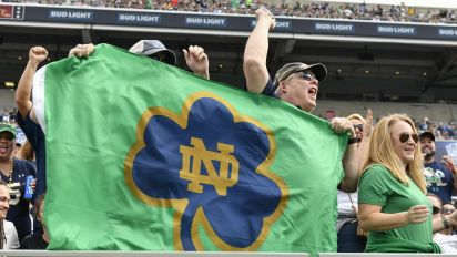 Notre Dame carries the banner in the Midwest