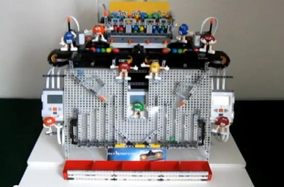 Lego-powered M&M sorter pleases your palate's imagination (video)