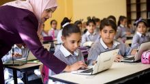 Palestinian schools strive to modernize classrooms