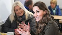 Duchess of Cambridge taking questions from the public before big speech