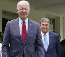 Biden celebrates infrastructure deal at White House
