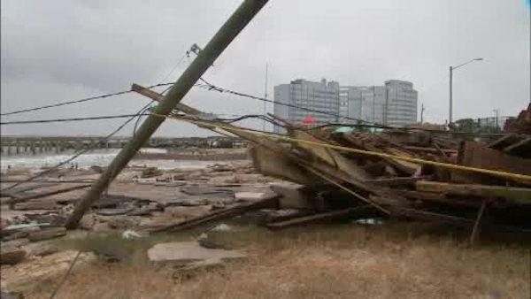 Some damage, but not as bad as expected in Atlantic City