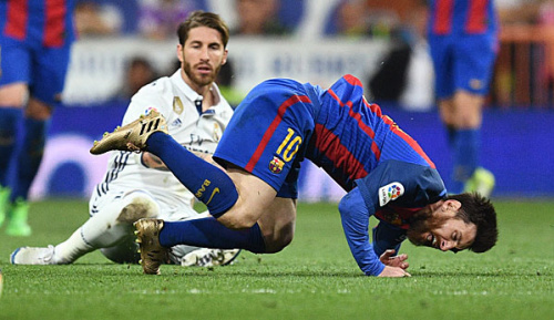 Primera Divison: Attacke gegen Messi: Nur ein Spiel Sperre für Ramos
