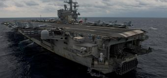 U.S. Navy aircraft with 11 aboard crashes off Japan