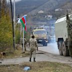 Dispatch: Knife-wielding Armenian refuses to leave home as Azerbaijani troops move in to reclaim final swathe of territory