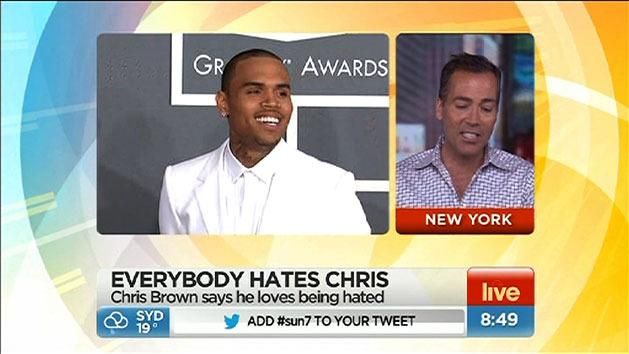 Chris Brown loves to be hated