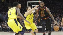 LeBron James comes out on fire, scores first 16 points for Cavaliers in Game 2 vs. Pacers