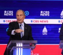 Democratic debate viewers cannot escape Mike Bloomberg