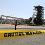 Saudi Arabia shows attack site damage as Iran pledges tough defense