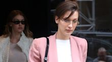 Bella Hadid Rules the Street in Alexander Wang's $35 Claw Clip