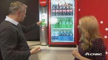 Watch Coca-Cola's new gadget turn sodas into slushees in ...