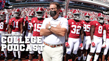 College Football Podcast: Nick Saban has COVID, Tuscaloosa misery index, Week 7 picks