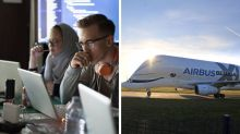 $8,000 prize money to design an app for Airbus