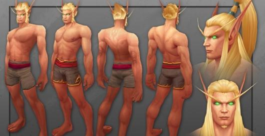 Take a look at World of Warcraft's updated Blood Elf models