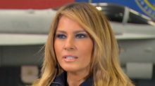 f4bc37acb655d Melania Trump interview  First lady says  I don t agree with Donald s tone