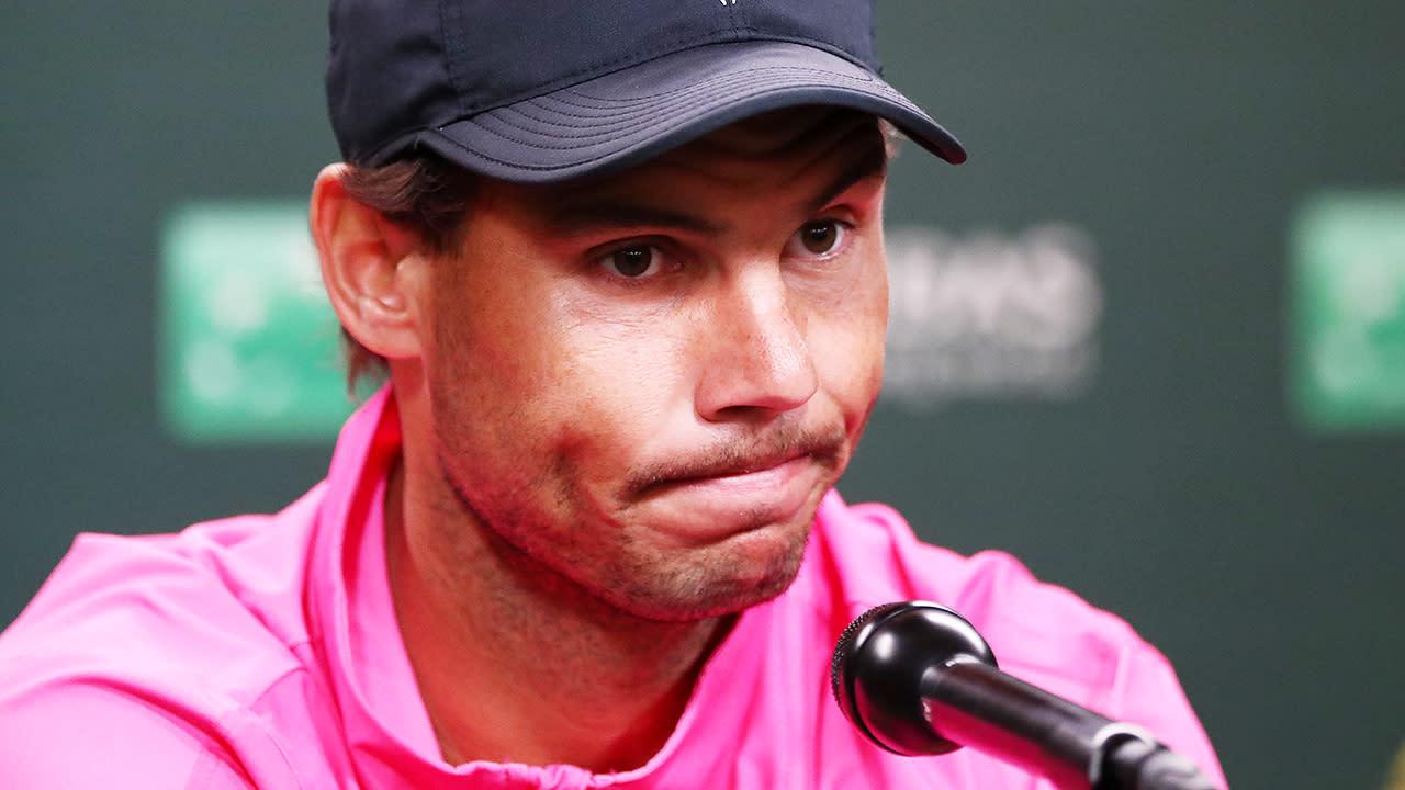 Tennis world left shattered by heartbreaking Rafael Nadal news