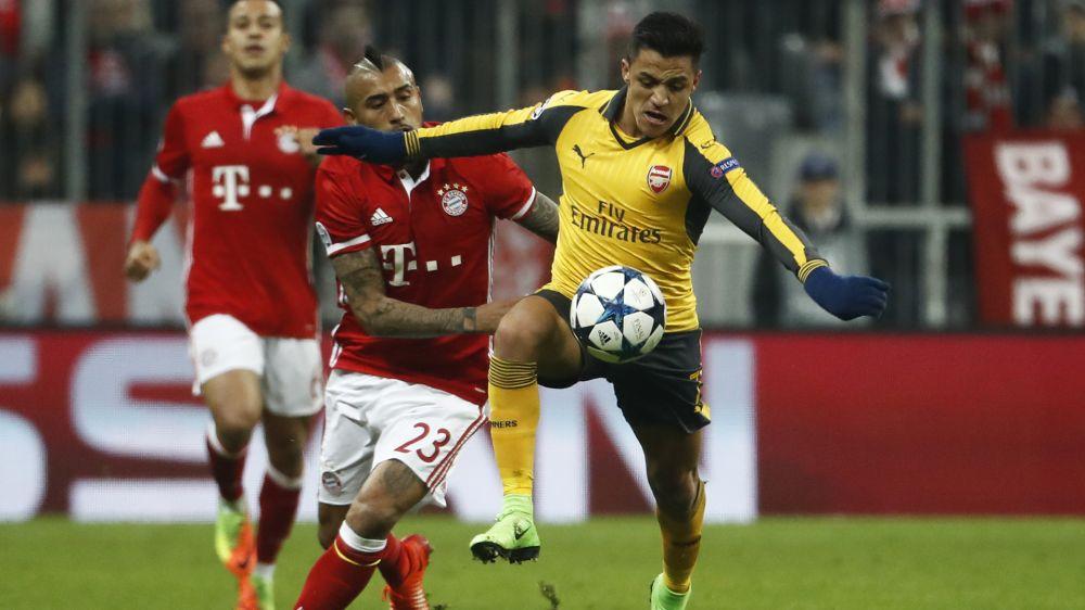 Bayern Munich buscará juntar a Alexis Sánchez y Arturo Vidal