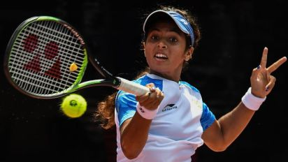 Ankita Raina Stuns Former US Open Champion Samantha Stosur