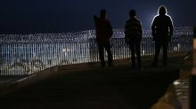 Migrants get cool reception in Mexican border town