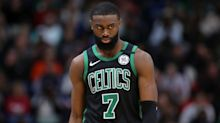 Jaylen Brown and Mike Scott don't love NBA's list of social justice messages for jerseys