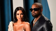 Kim, Kanye and daughter North wear custom designer clothing for fashion-forward Father's Day photo